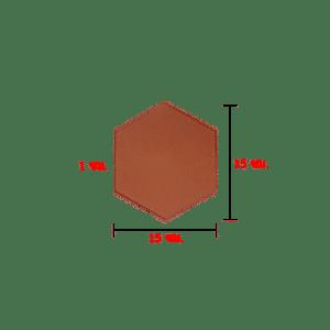 กระเบื้องปูพื้น 6 เหลี่ยมด้านเท่า