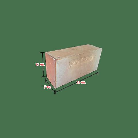 อิฐทนไฟ MOT เหลี่ยม ขนาด 7X11X23 ซม.