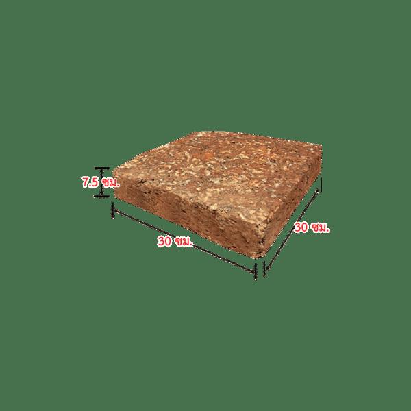 ศิลาแลง 03 ขนาด 7.5X30X30 ซม.