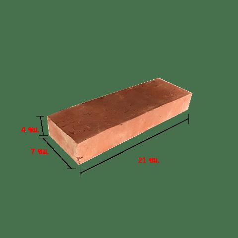 อิฐโบราณ 06 (เผาฟืน) ขนาด 4x7x21 ซม.
