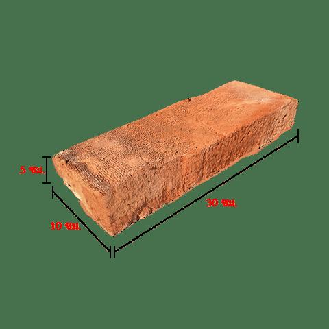 อิฐมอญโบราณ10x30 (เผาฟืนผิวหยาบ)