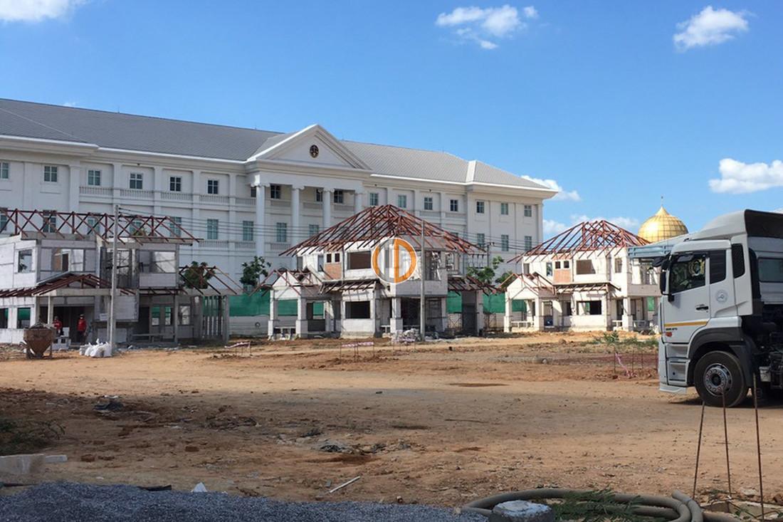 อิฐแดง มอก. โครงการอาคารบ้านพักศาลปกครองยะลา