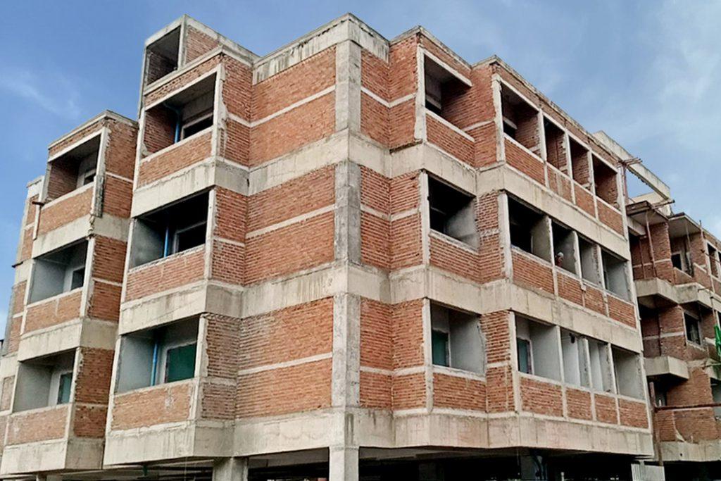 โรงพยาบาลตราด อิฐแดง 4 รู และอิฐบล็อกช่องลม