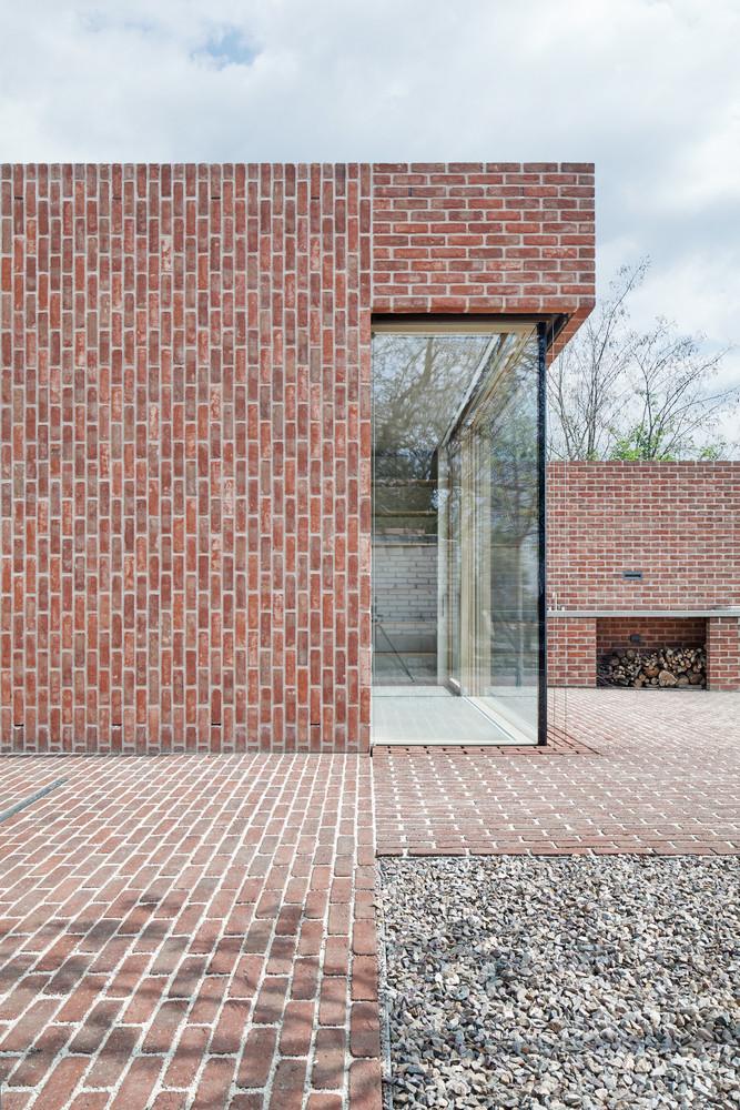 Brick House in Brick Garden