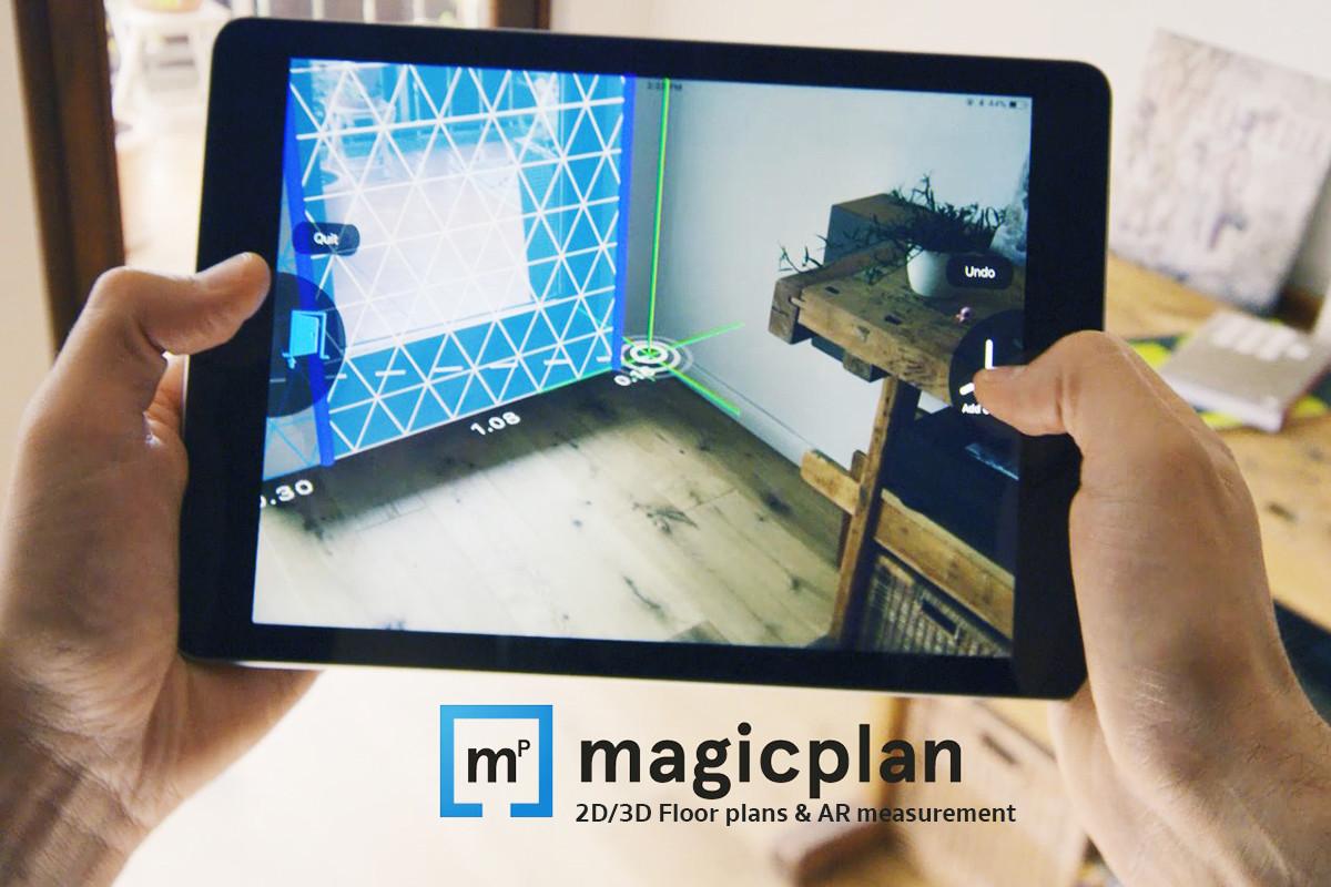 Magicplan 3D แอปช่วยคำนวณพื้นที่ และการออกแบบ