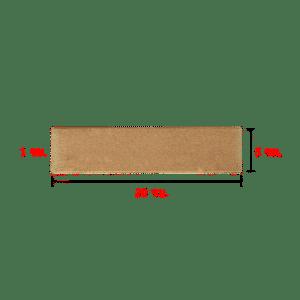 กระเบื้องแปะผนัง กลีบบัว 5x20 ซม.