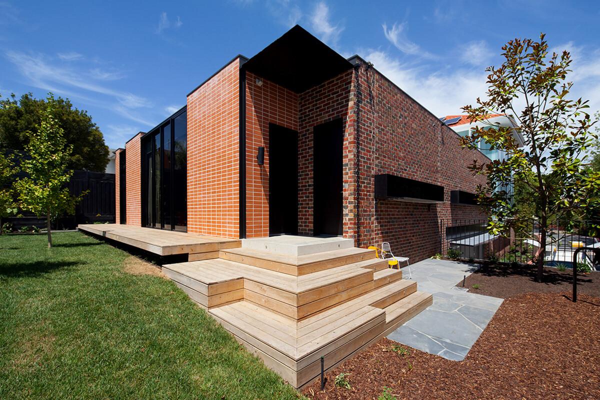 อิฐทั่วโลก : Three Parts House   Brick House AUSTRALIA