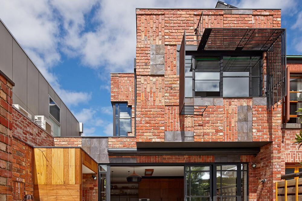 อิฐทั่วโลก : Cubo House | Brick House AUSTRALIA
