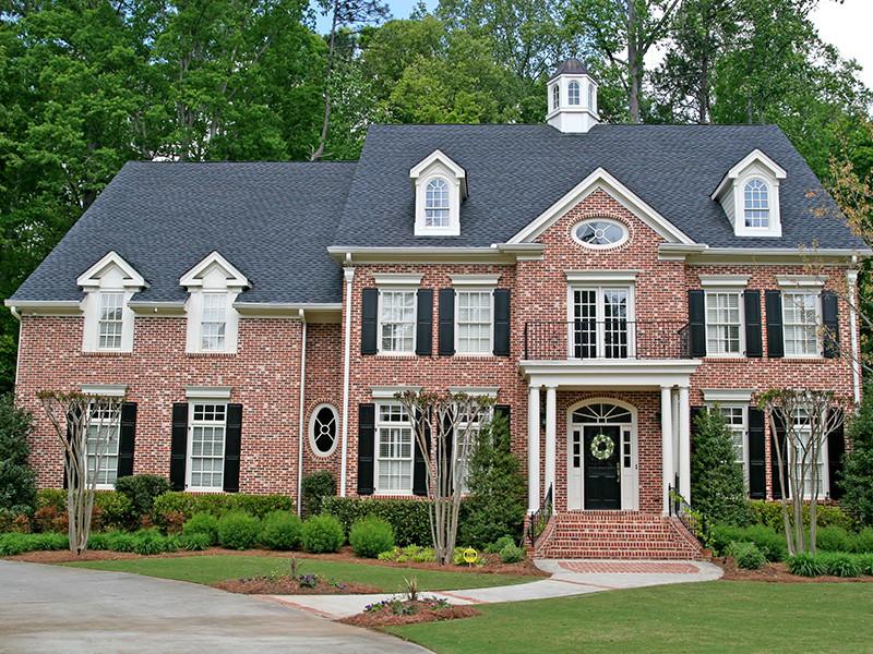 บ้านสไตล์โคโรเนียล (Colonial Style)