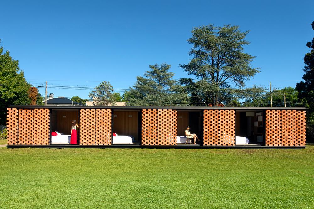 อิฐทั่วโลก : Experimental Brick Pavilion