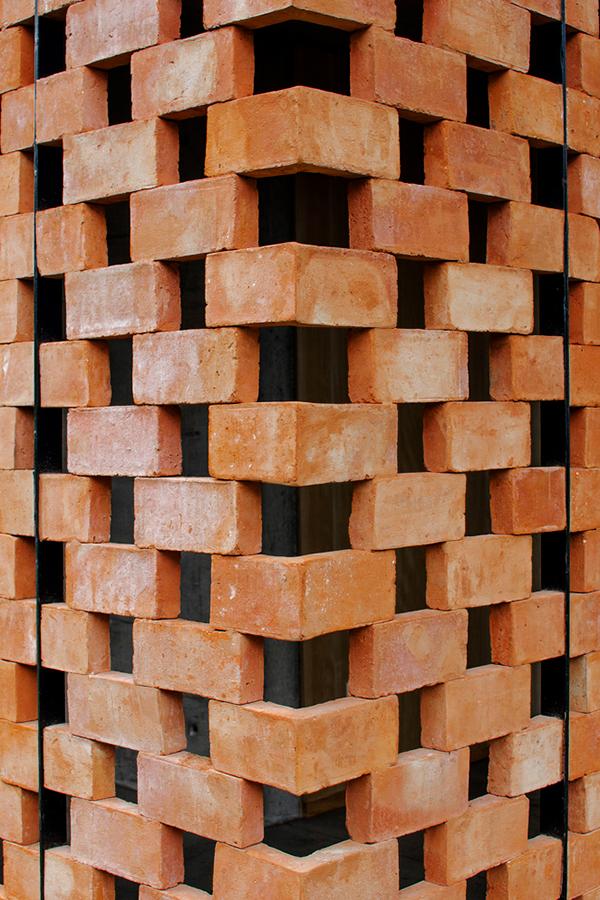 Experimental Brick Pavilion