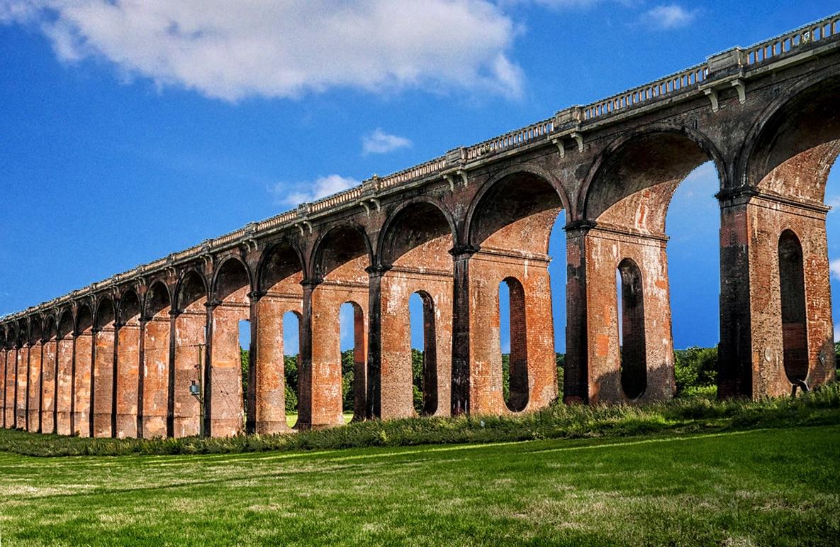 อิฐทั่วโลก : Ouse Valley Viaduct สะพานอิฐแดงในอังกฤษ