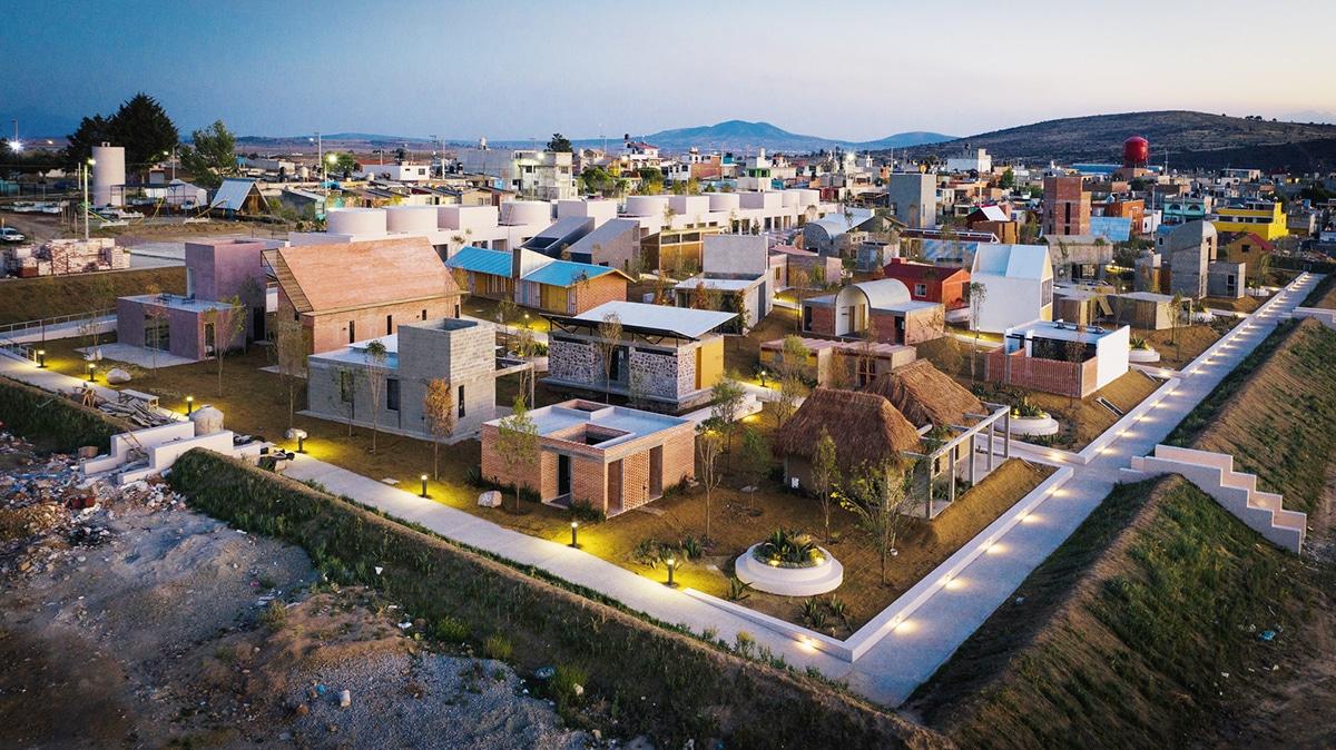Self-Produced Rural Housing บ้านจากอิฐบล็อก 01