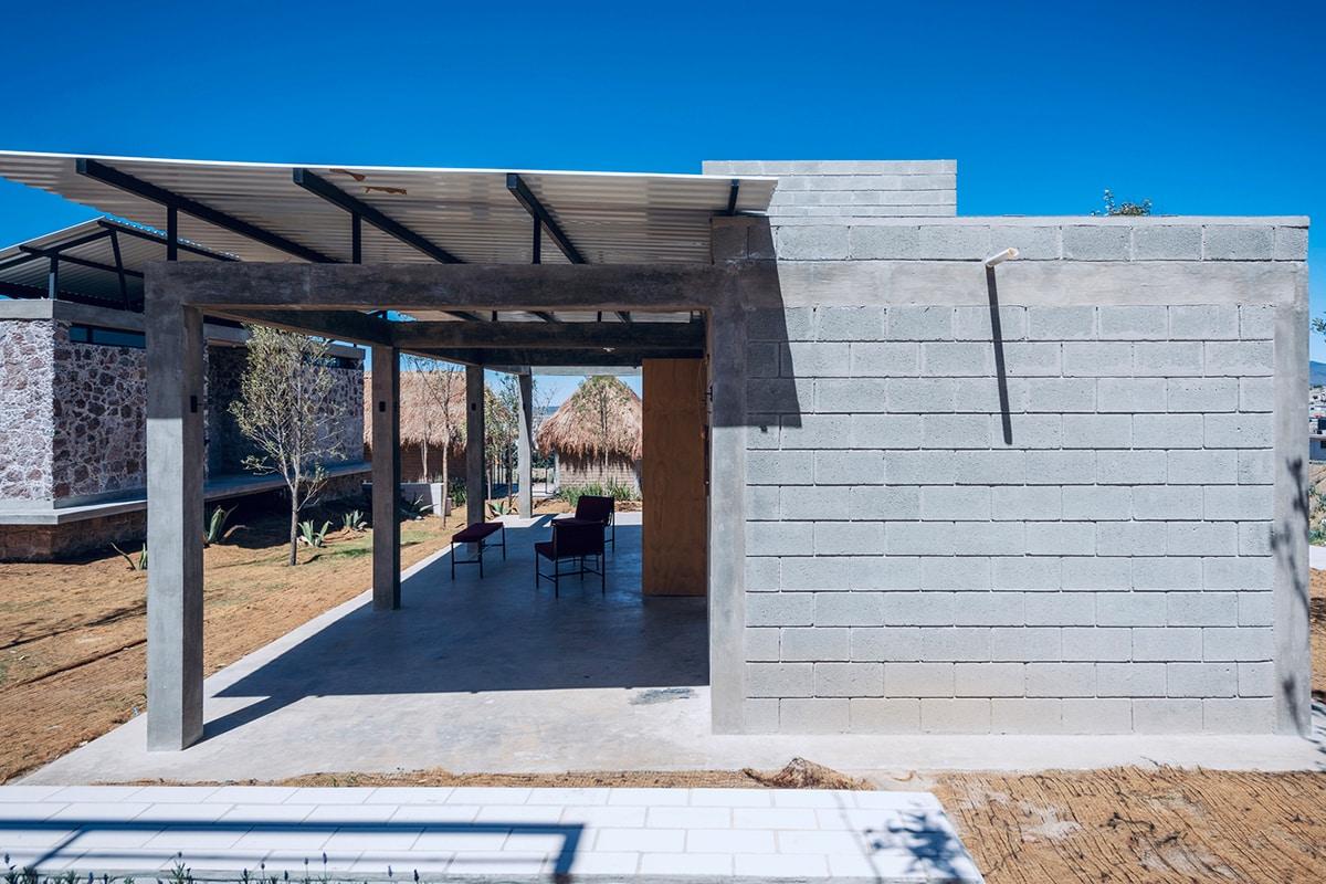 Self-Produced Rural Housing บ้านจากอิฐบล็อก 9
