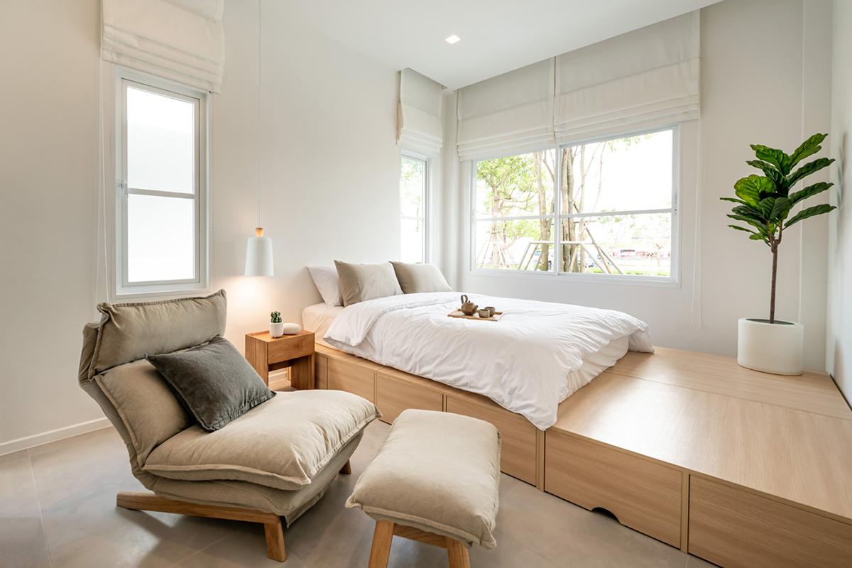 บ้านอิฐแดงทั้งหลัง สไตล์ญี่ปุ่นสุดมินิมอล ที่ Little House Pecan จ (6)